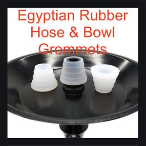 Egyptian Hookah Bowl Grommet Hose Grommet Shisha Clay Bowl Rubber Khalil Mamoon