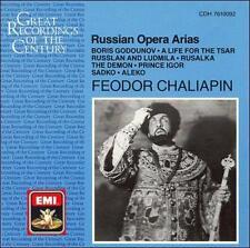 Fedor Chaliapine: Russian Opera Arias Fedor Chaliapine Audio CD