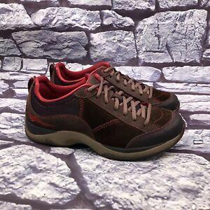 Dansko Sabrina Women Brown Suede Lace Up Walking Sneaker Size 39 US 8.8 - 9