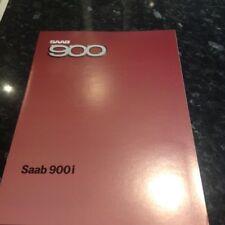 SAAB 900 BROCHURE GAMMA - 1984. Nuovo di zecca