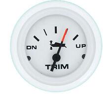 """SIERRA ENGINE TRIM GAUGE 68378P EVINRUDE JOHNSON 2"""" ARCTIC FACE/TRIM"""