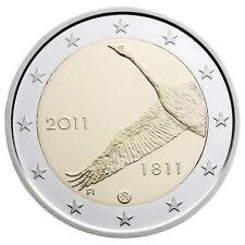 Série de 10 pièces Commémorative de Finlande 2011 dans leur sac.