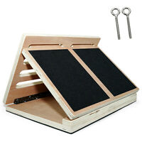 Yes4All 4 Levels Adjustable Wooden Slant Board Calf Incline Stretch Ankle Board