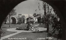 A32/ Laredo Texas Tx Postcard Court Cortez Real Photo RPPC c1939