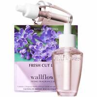 Bath & Body Works Wallflowers Refill  Home Fragrance 2 Bulbs FRESH CUT LILACS