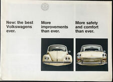 Volkswagon Beetle and 1600 Fastback model 1967