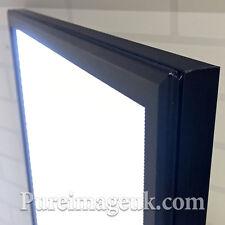 "25MM LED A2 Size Snap Frame Poster Display Menu Box 635 X 465mm 25"" x 18"" X 1"""