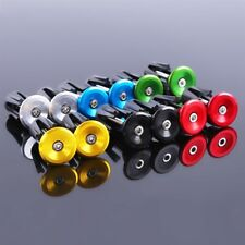 Aluminum alloy Bike Grips Bar End Caps Plug For MTB Road Bicycle Handle BS
