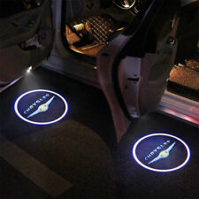 2 Wireless Ghost Shadow Projector Logo LED Light Courtesy Door Step for Chrysler