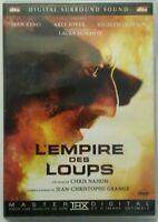 DVD l'empire des loups avec Jean Reno