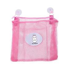 Baby Bath Bathtub Toy Mesh Storage Bag Suction Cup Shower Bathroom Organiser KI