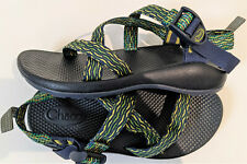 Chaco Women's Navy blue greeen Z1 Classic Sport Water Sandals size 5