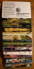 CAYMAN ISLANDS 24 DIFFERENT 1990'S PHONE CARDS (2)