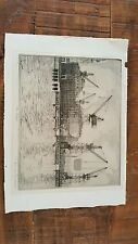 """DON SWANN ETCHING - 'THE CHILORE"""" Signed & Numbered 277/300"""