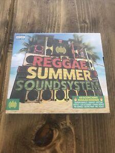 Reggae Summer Soundsystem (CD, 2019, Ministry of Sound) : NEW & FACTORY SEALED
