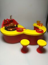 Vintage Sindy Barbecue Complete With Box Pedigree