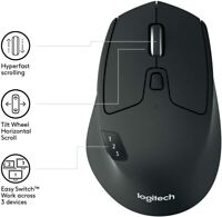 Logitech M720 TRIATHLON Wireless Mouse Multi Device Bluetooth and USB Unifying