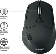 Logitech M720 TRIATHLON Wireless Mouse Multi Device Bluetooth and USB Unifying