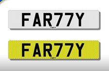 FAR77Y        '' Farty '' , On Retention Certificate