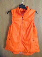 Adidas Women's Agravic Terrex Pertex Orange Vest, Sz Large, MSRP $99