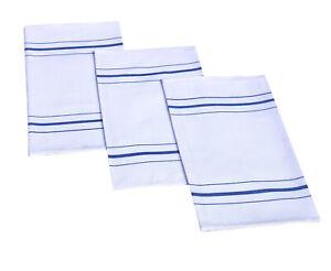 10 x Glass cloth tea towel 100% cotton kitchen cloths for restaurant & home