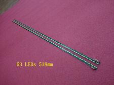 2 Pieces*63 LEDs LED strip 6920L-0001C 6922L-0071A for LG 47LA6600 LC470EUH