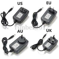 AC100-240V to DC 6V 2A 12W Power Supply Charger Converter Adapter AU UK EU US
