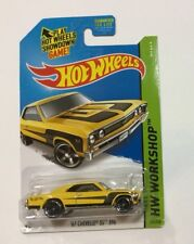 2014 HOT WHEELS Workshop Muscle Mania Yellow '67 Chevelle SS 396  #232/250