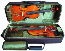 "Air Version - Pro ""Double"" 4/4 Violin Case / Wooden Case For Two violins"