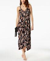 INC International Concepts Womens Printed Handkerchief-Hem Dress Abstract Print