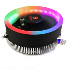 CPU Cooling Fan CPU Cooler LED Light For Intel 775/1150/1156 AMD AM2+/AM3/AM3QA