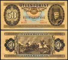 HUNGARY 50 FORINT 1965 P170a UNCIRCULATED