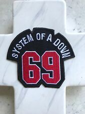 SOAD System Of A Down 69 Sixty Nine Band Rock Music Iron On Patches Patch