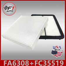 FA6308 FC35519 PREMIUM ENGINE & CABIN AIR FILTER for 2010-11 ACCORD CROSSTOUR V6