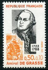 STAMP / TIMBRE FRANCE NEUF LUXE N° 1727 ** CELEBRITE / AMIRAL DE GRASSE