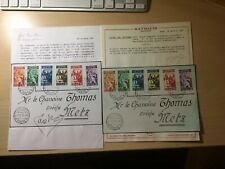 Rare Vatican Fdc With 2 Certificates