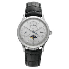 Jaeger LeCoultre 140.8.80.S Master Control Perpetual Calendar Steel Wrist Watch