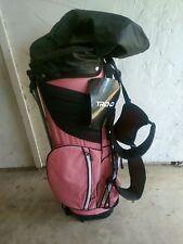 Trend Women's Pink/Black Lightweight Stand Bag