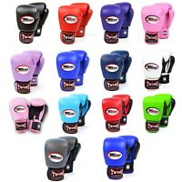 Twins Boxing Gloves 10oz 12oz 14oz 16oz Muay Thai Kickboxing Boxing Sparring