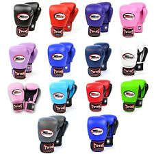 Twins Boxing Gloves 10oz 12oz 14oz 16oz Muay Thai Kickboxing Sparring Gloves
