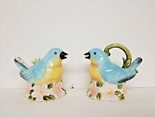 Charming Bluebird Sugar & Creamer Set