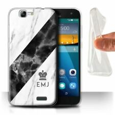 Silver Matte Mobile Phone Cases & Covers for Huawei Ascend G