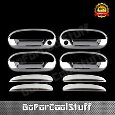 For Ford 97 98 99 2000 01 02 Expedition Chrome Door Handle Cover W/Passenger Key