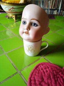 Belle tête de Poupée Ancienne en porcelaine