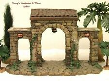 "Fontanini Italy 2.5"" Series Village Town Gate Nativity Building 50265 Box"