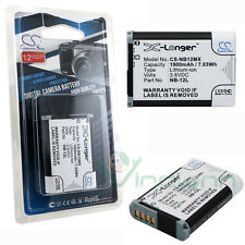 Batteria sostitutiva NB12 X-Longer per Canon PowerShot G1X mark II / N100