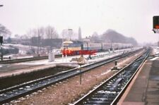 PHOTO  1979 UP FAST LINE HST AT MAIDENHEAD IN 1979 THIS WAS THE CUTTING EDGE OF