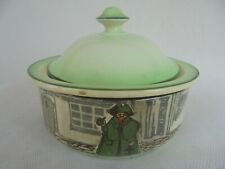 ROYAL DOULTON SERIES WARE SOAP DISH & COVER ~ FROM ' THE NIGHTWATCHMAN ' SERIES