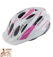 LIMAR 540 ALL AROUND SILVER/PINK MEDIUM BICYCLE HELMET