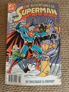 "THE ADVENTURES OF ""SUPERMAN""  # 429, DC Comics 1987 VF+"